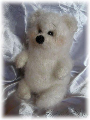 медведя,вязание игрушек