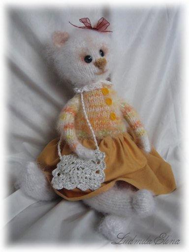 Вязаная кошечка, галерея - продажа вязаной игрушки.