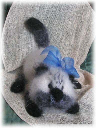 маскарадный кот,связать