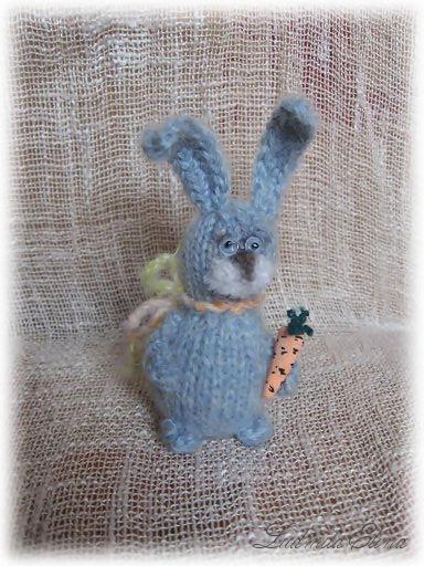 вязаная игрушка заяц амигуруми,handmade toys by ludmila elina,продажа вязаных игрушек,купить зайца.