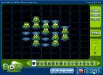 прикольная логическая головоломка лягушки-попрыгушки, играть онлайн