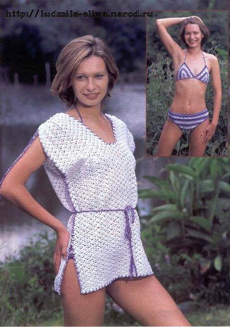 Пляжная мода.