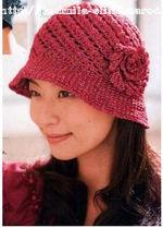 шляпка-панамка, вязание крючком, схема