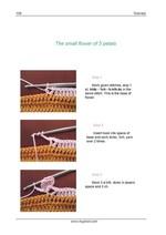 прихватка цветочная поляна, вязание крючком, схема