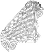 схемы квадратных салфеток крючком