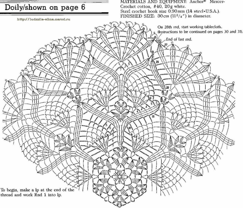 Схемы для вязания крючком квадратных мотивов
