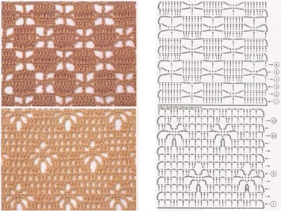 Журналы по вязанию посмотреть схемы вязания