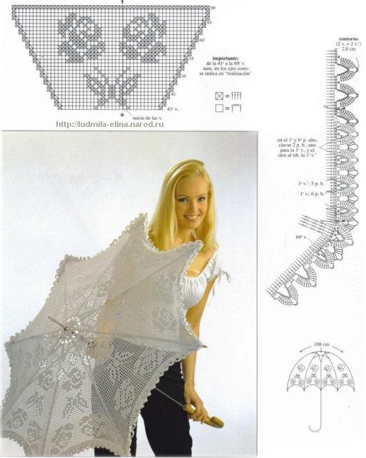 Вышивка крестом зонтик схема