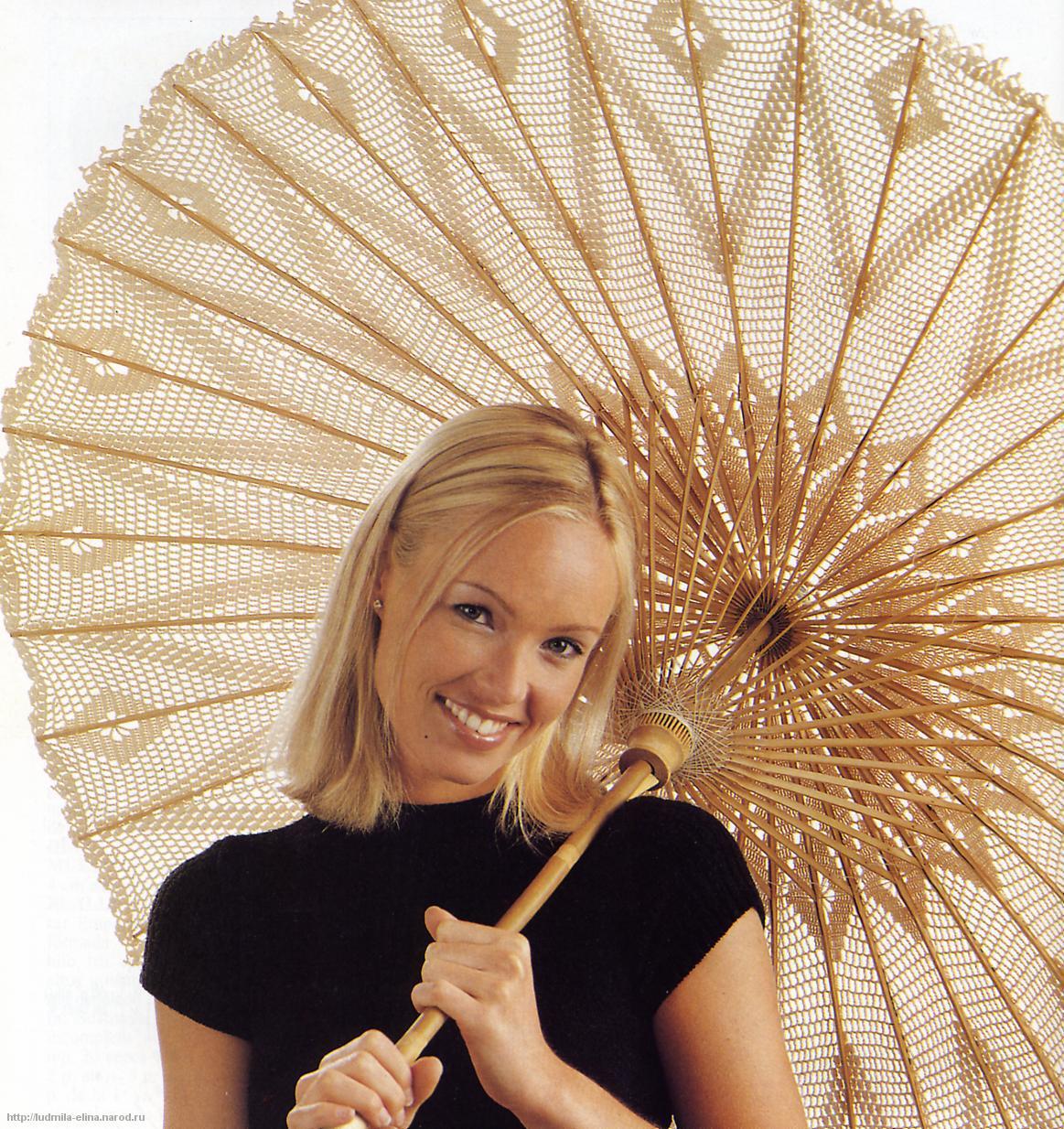 зонтики вязаные схема