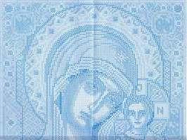 вышивка икона Божией Матери Казанская, схема