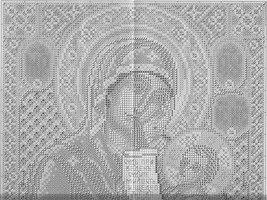 вышивка икона Божией Матери Утоли моя печали, схема