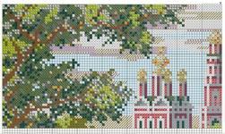 вышивка новодевичий монастырь, схема
