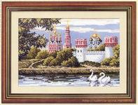вышивка крестом, новодевичий монастырь, схема
